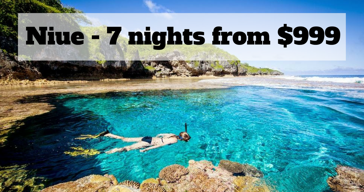 Car Wallpaper >> Nowhere like Niue - 7 nights from $999 - The Travel Co