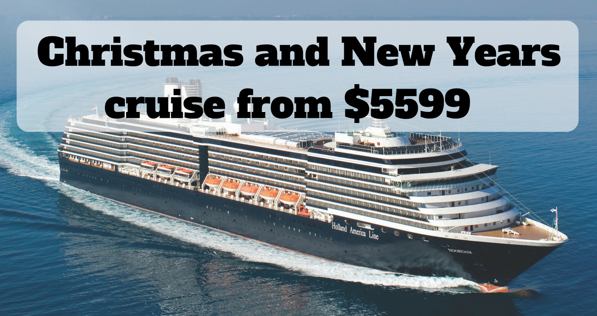 30 Night Australia NZ And Pacific Christmas Cruise From 5599  The Travel Co