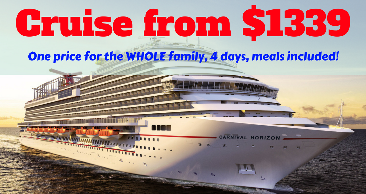Cruise Mexico Or Europe In School Holidays 2018 From 1339 Per Family  The T