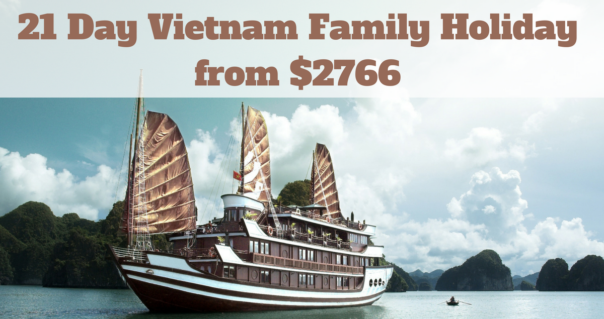 Vietnam Family Holiday 21 days from $2766 - The Travel Co
